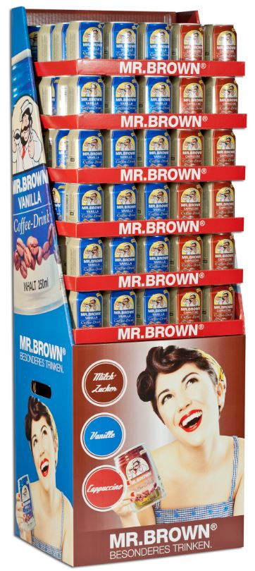 Display Mr. Brown